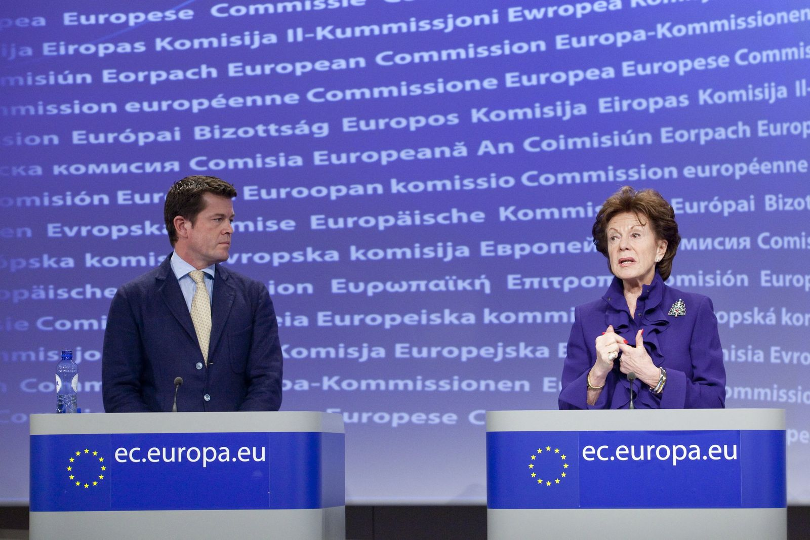 Press conference on the launch of Europes No Disconnect Strateg