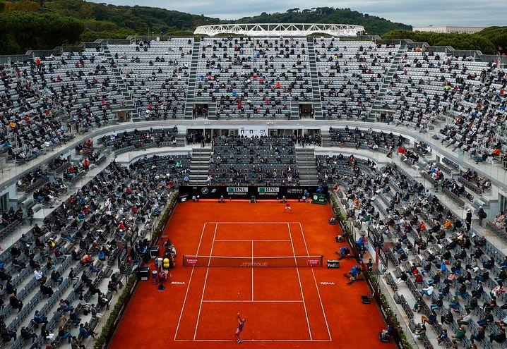 Bis zu 25 Prozent der Plätze durften während der Spiele mit Zuschauern besetzt sein