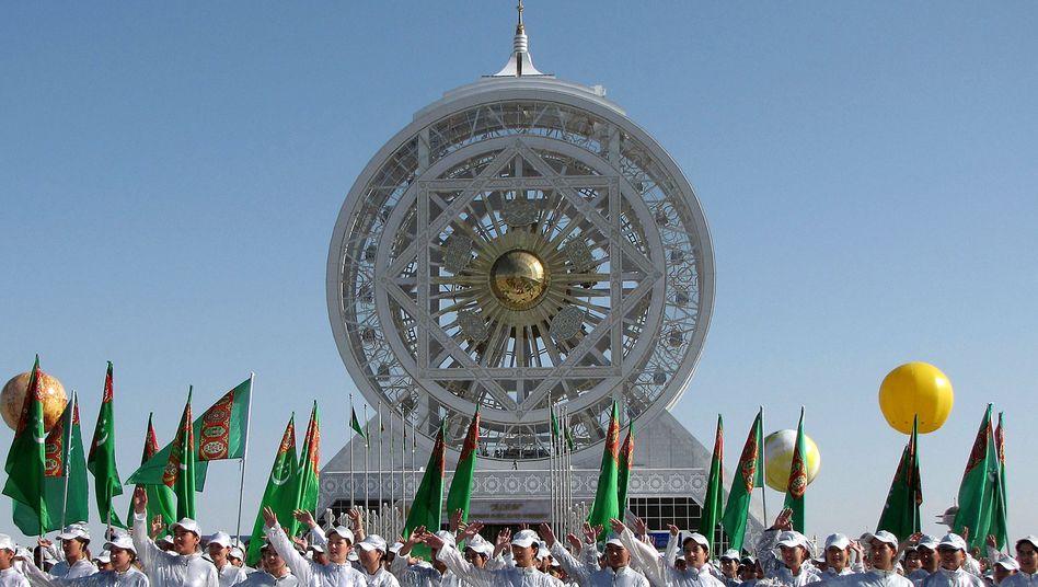 Riesenrad in Turkmenistan: Der Durchmesser von 47,6 Metern ist Guinness-Rekord
