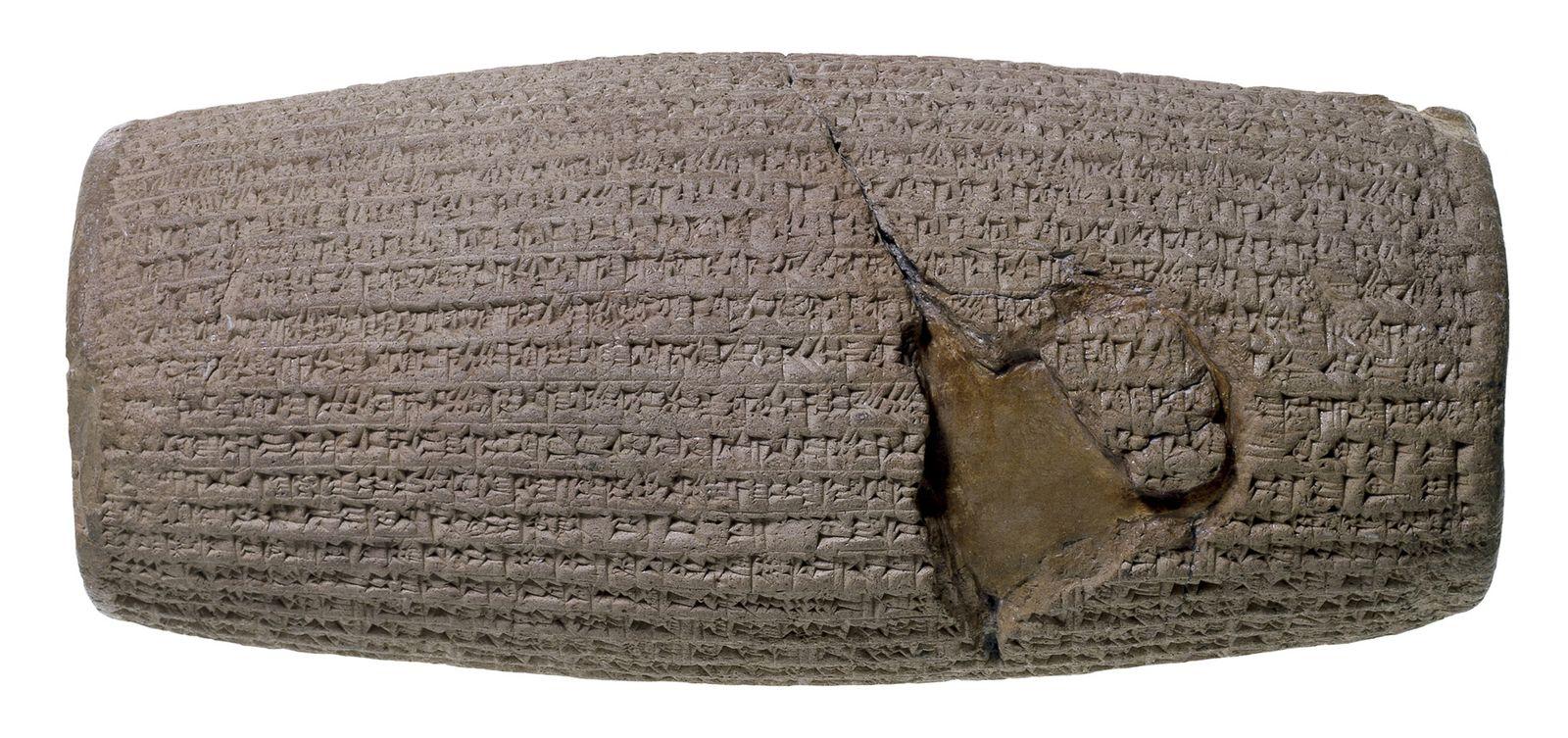 EINMALIGE VERWENDUNG Babylonische Tafel / Babylon