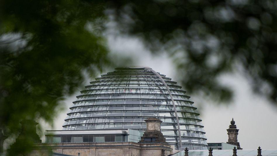 Reichstagskuppel: Datenabflüsse aus Parlamentsrechnern