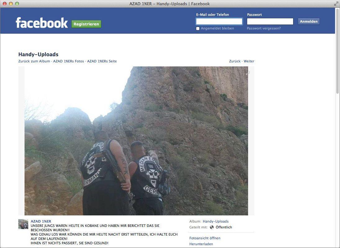 EINMALIGE VERWENDUNG SCREENSHOT/ Syrien/ IS/ Rocker