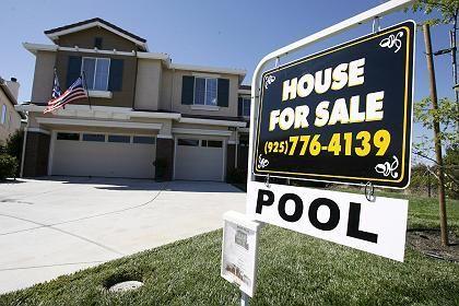 Immobilie zu verkaufen: Die Hypothekenkrise in den USA bestimmt immer noch die Finanzmärkte