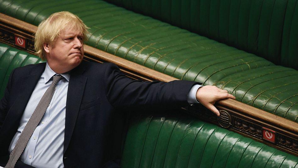 Rekonvaleszent Johnson am 3. Juni im Unterhaus:Bisweilen nur noch Premierminister Englands