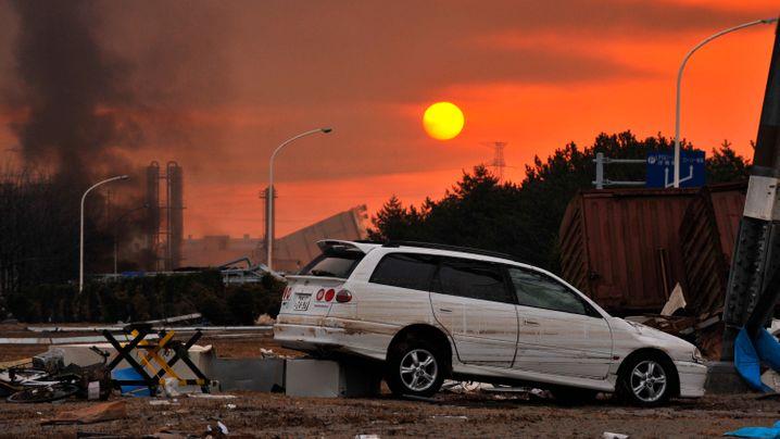Zwei Tage nach dem Beben: Verwüstete Ostküste