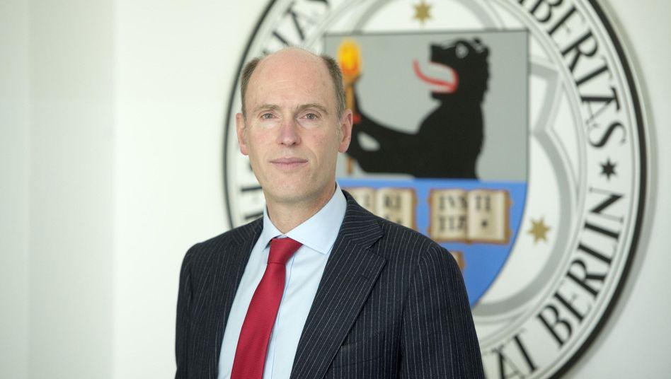 Noch-FU-Präsident Peter-André Alt