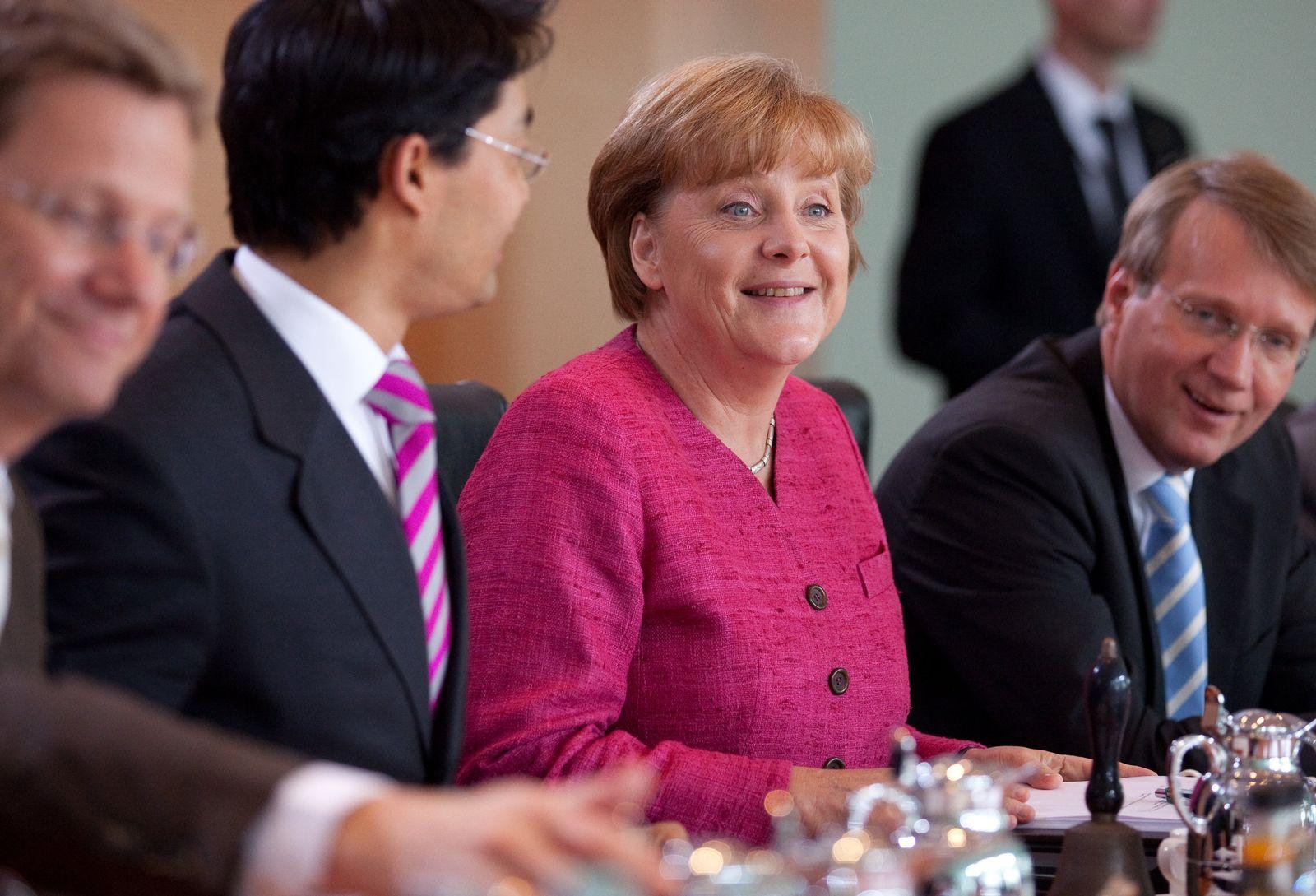 Merkel/ Kabinett