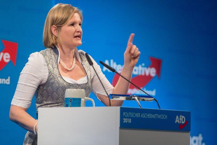 Katrin Ebner-Steiner, a candidate for the AfD in Bavaria