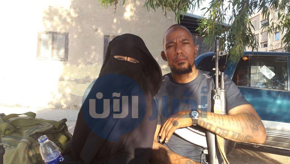 Omaima A. (l.), Denis Cuspert: Engste Kontakte zur Führungsebene des IS