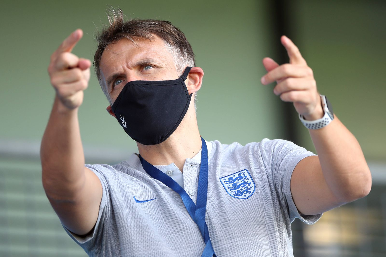 Phil Neville file photo File photo dated 13-09-2020 of England Women manager Phil Neville. Issue date: Monday January 1