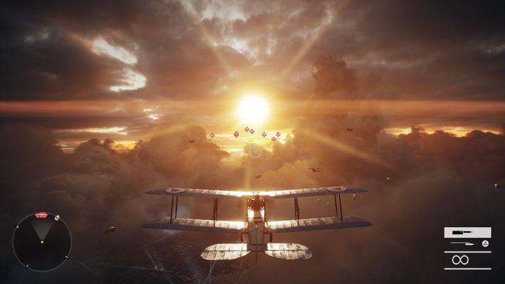 """Luftschlacht in """"Battlefield 1"""""""