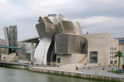 Bilbao's Guggenheim Museum designed by Frank Gehry