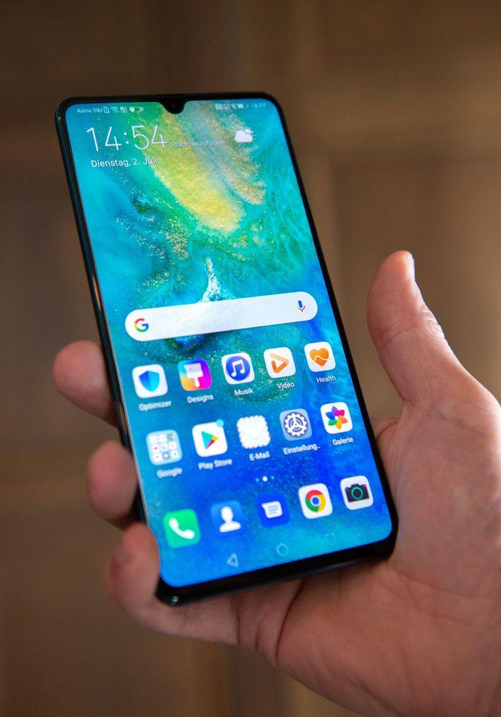 Huawei präsentierte sein Mate 20 X (5G) einen Tag bevor die Telekom ihre 5G-Tarife ankündigte