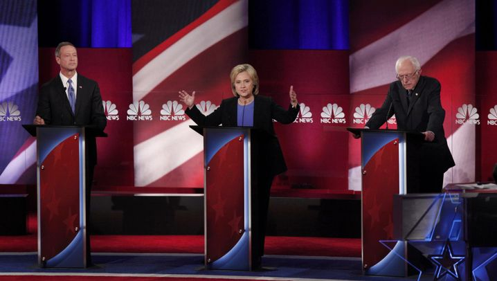 US-Wahlkampf: TV-Streit zwischen Clinton und Sanders