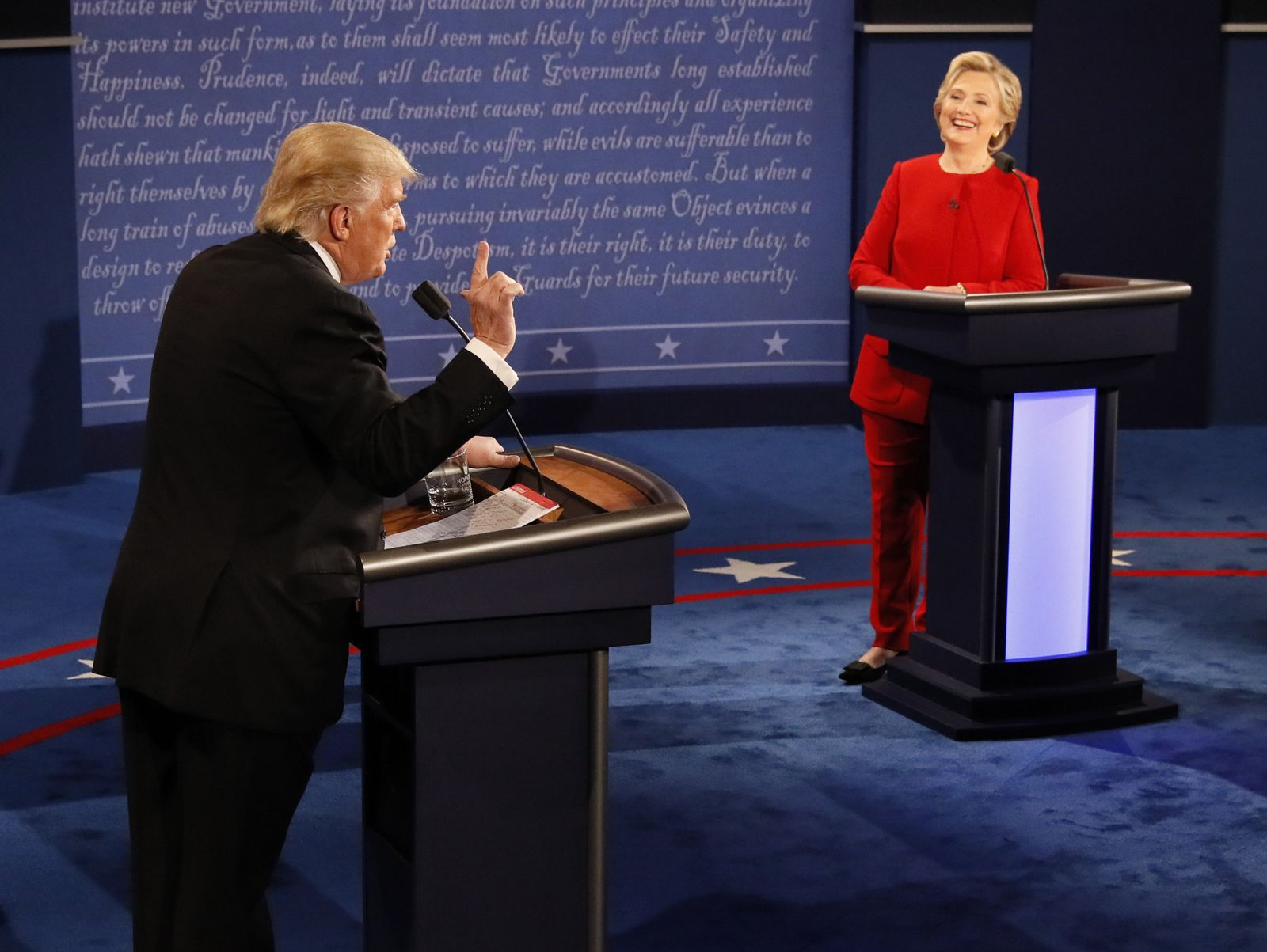 TV-Duell Trump Clinton