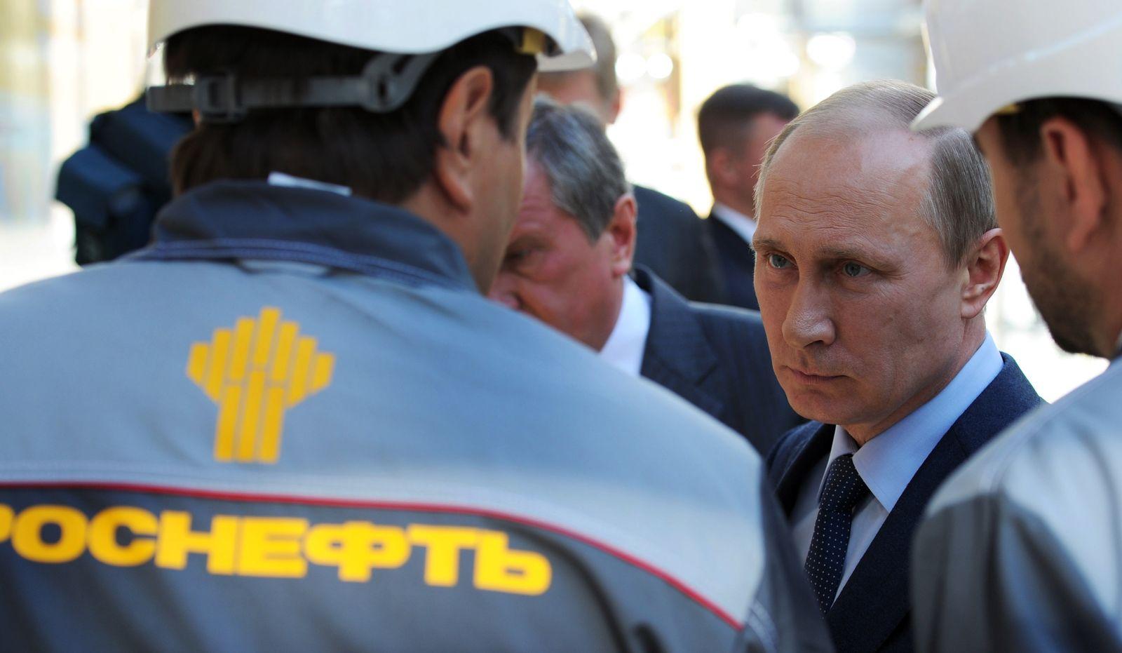 Rosneft Putin