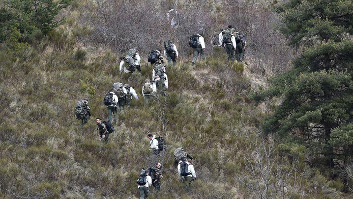 Germanwings-Absturz: Eindrücke vom Ort der Katastrophe