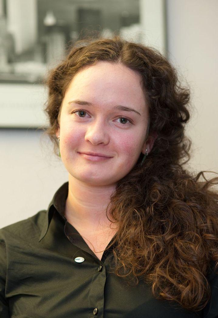 Emily Kuepfer ist eine von 22 ausländischen Trainees bei der Lufthansa