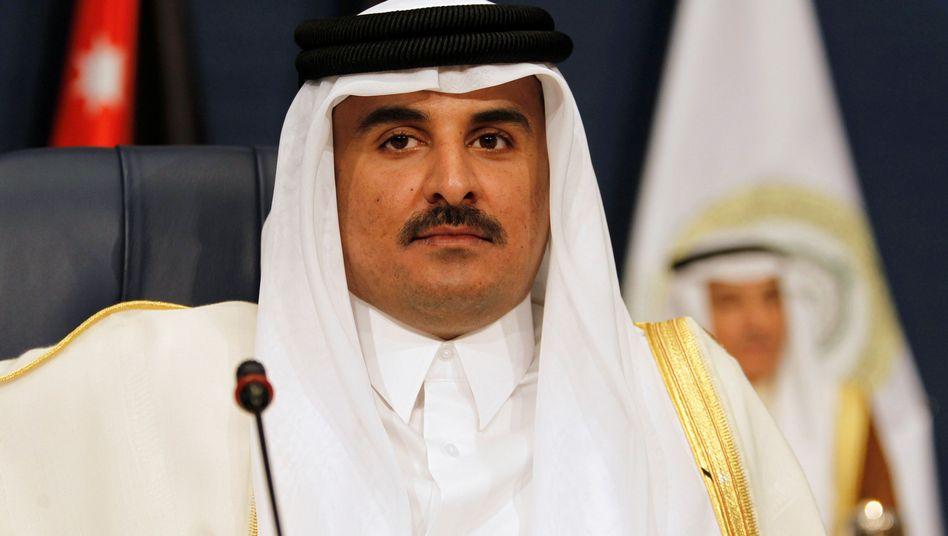 Katars Emir Tamim Bin Hamad Al-Thani