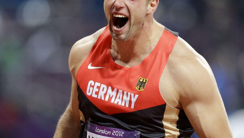 """Diskus-Olympiasieger Harting: """"Die Kampfrichter haben es spannend gemacht"""""""