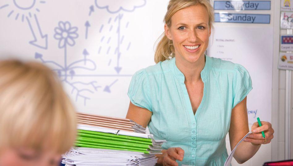 Lehrerin: Ein wenig attraktiver Beruf?