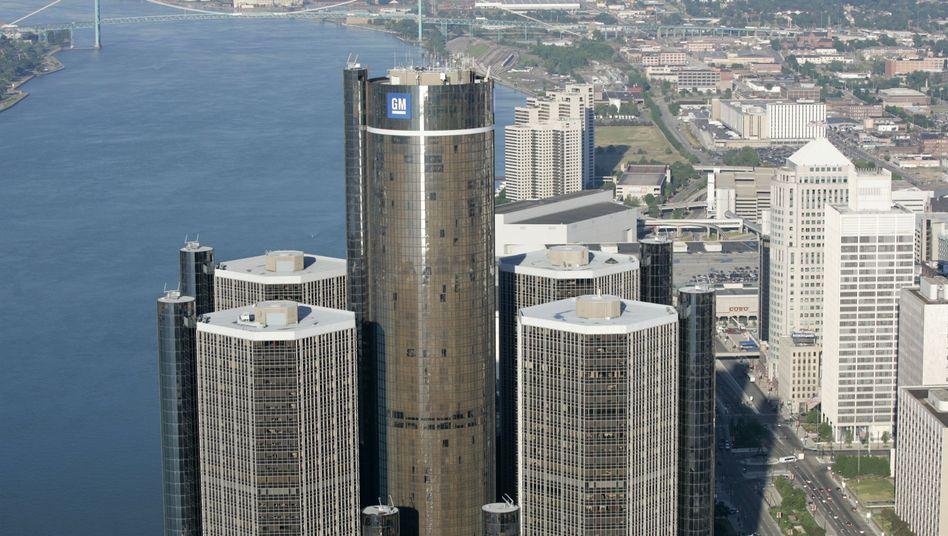 GM-Türme in Detroit: Viel geleistet seit der Fastpleite