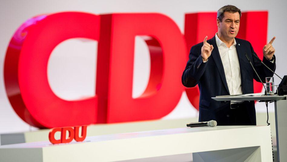 Hat seinen eigenen Biorhythmus: Bayerns Ministerpräsident Markus Söder