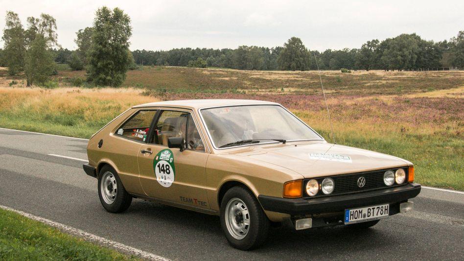 Oldtimer wie dieser VW Scirocco werden immer beliebter - sind jedoch nur bedingt als Wertanlage geeignet
