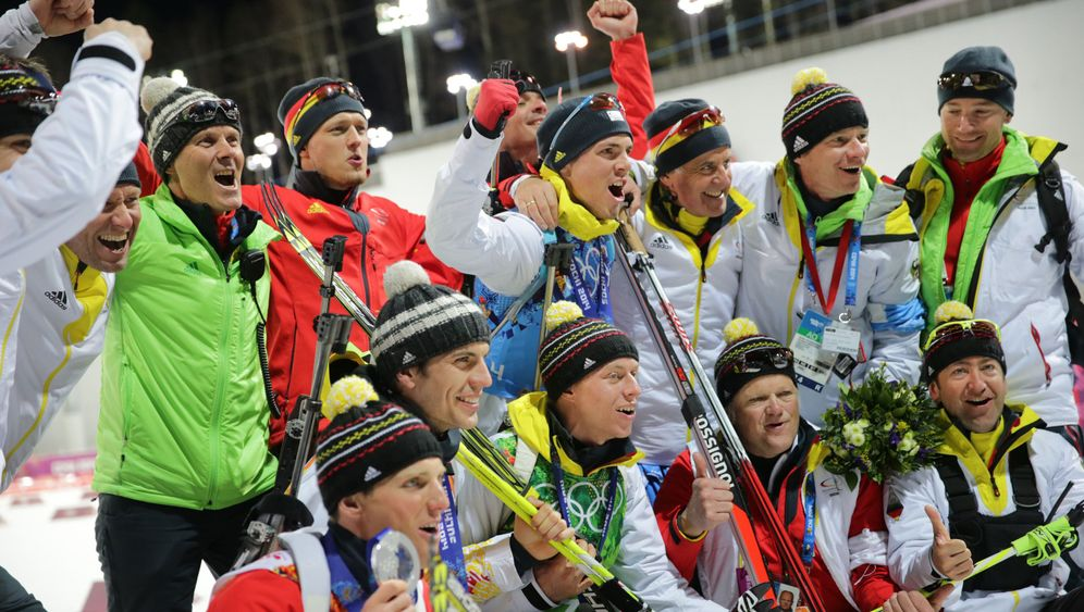 Silber mit der Staffel: Versöhnlicher Abschluss der Biathleten