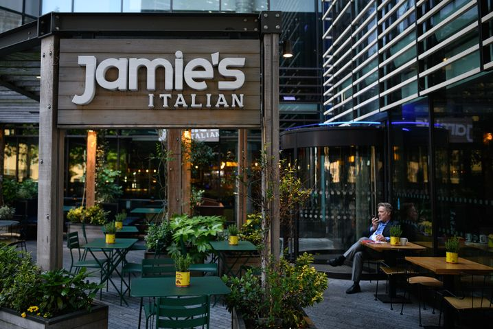 Jamie-Oliver-Restaurant in London