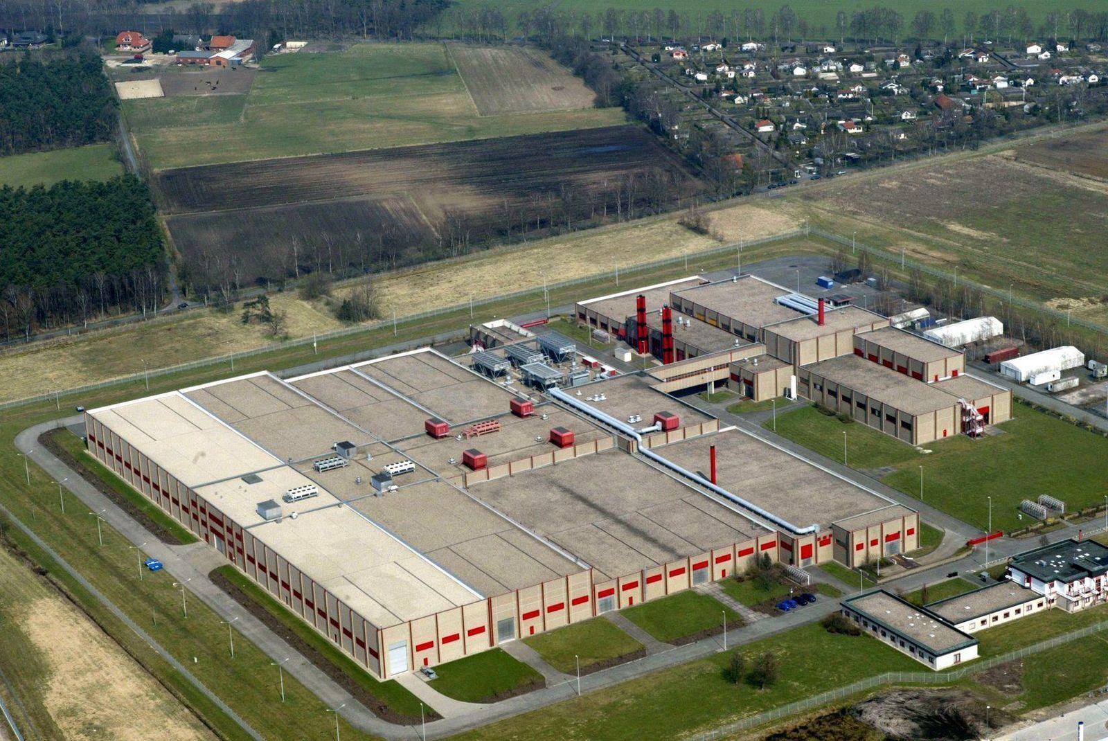 Zwischenfall in Uranfabrik Gronau