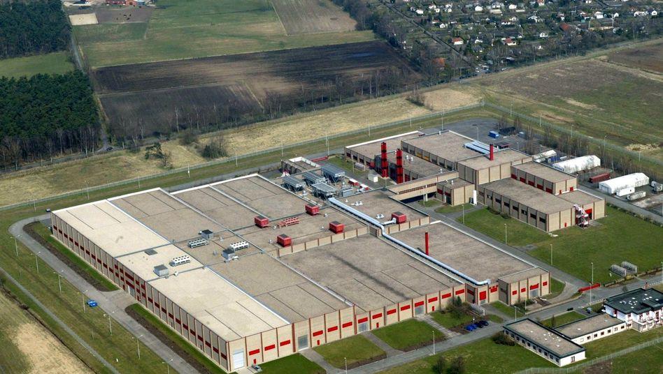 Urananreicherungsanlage in Gronau (2003): Lieferant für Kernkraftwerke