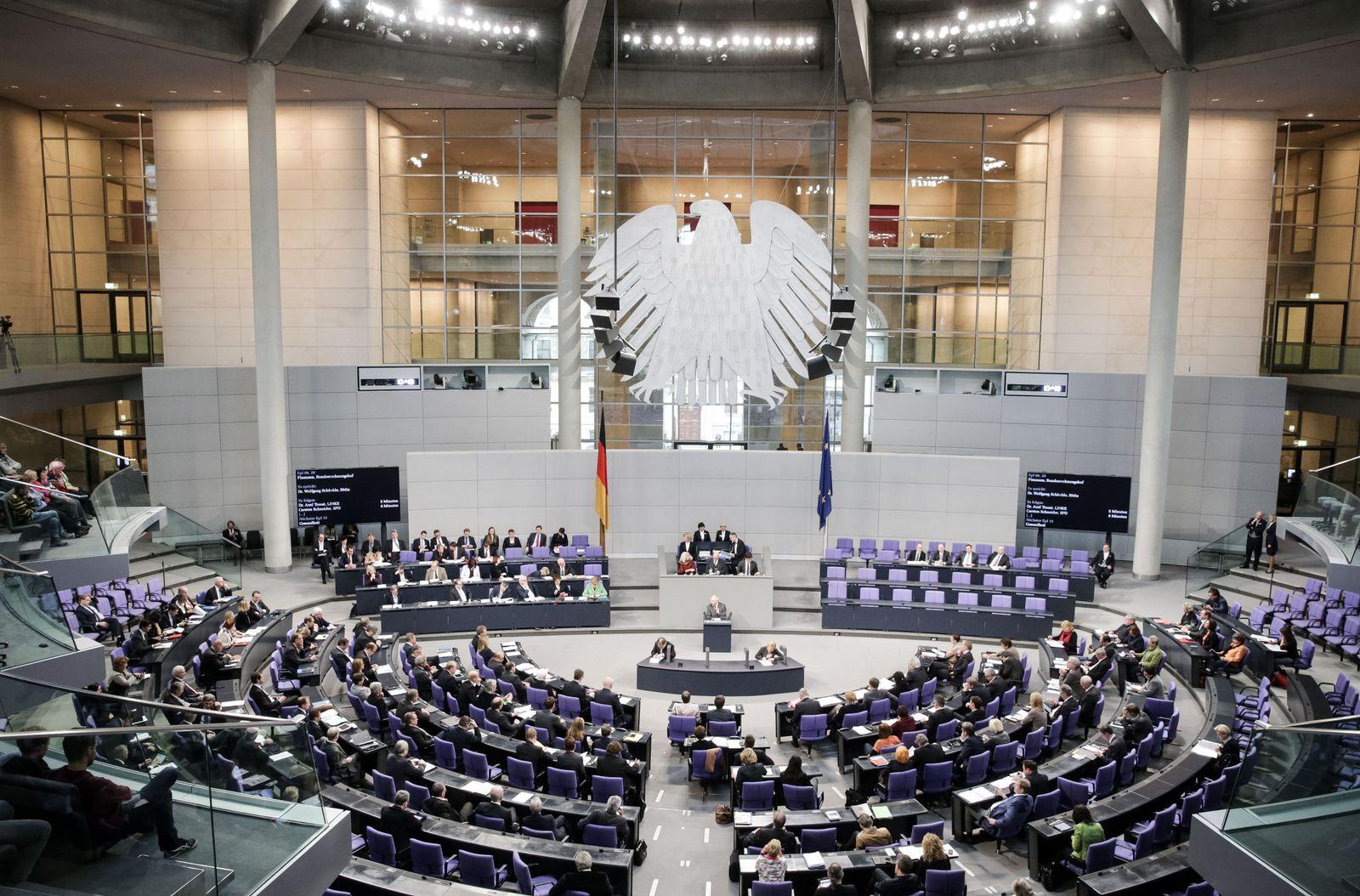 Schülerantworten / Bundestag