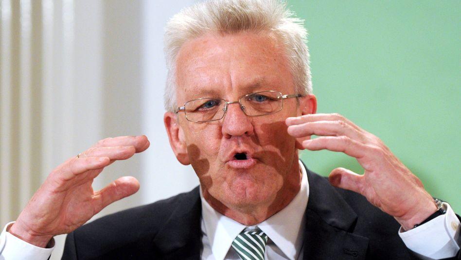 Designierter Ministerpräsident Kretschmann: Aus für die Campusmaut