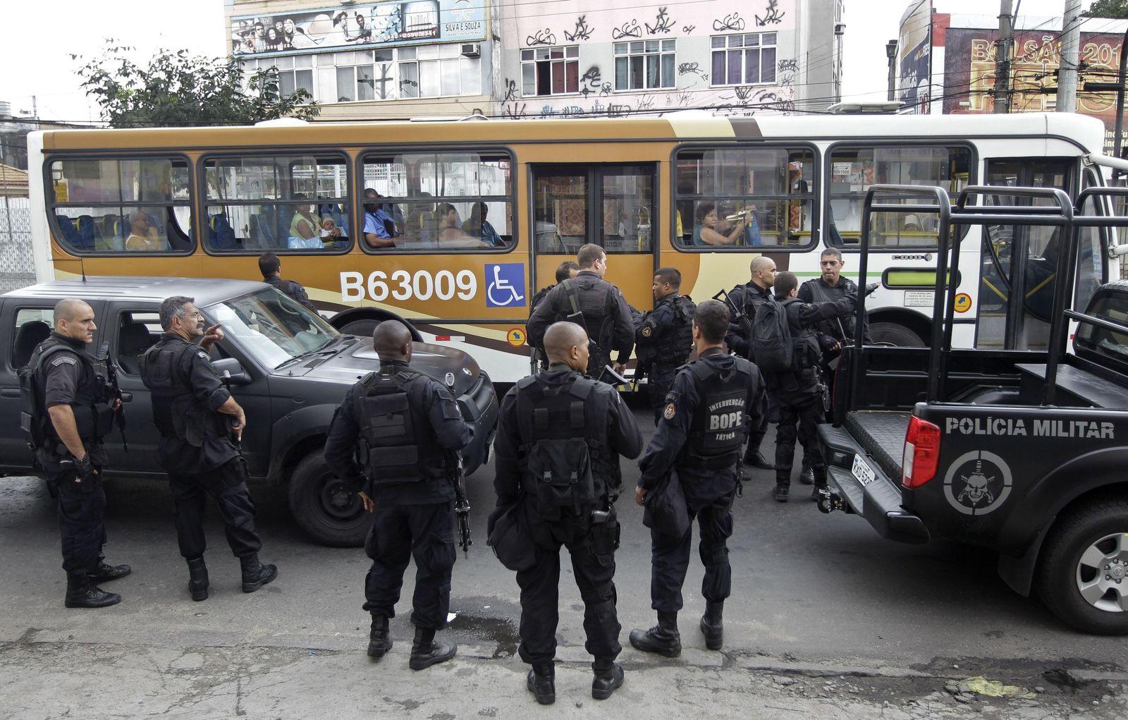 Rio Polizei Tote
