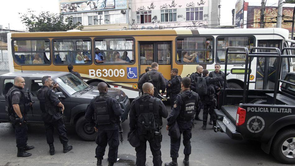 Polizeitruppe in Rio de Janeiro: Viele Tote bei Kampf gegen Drogenclans