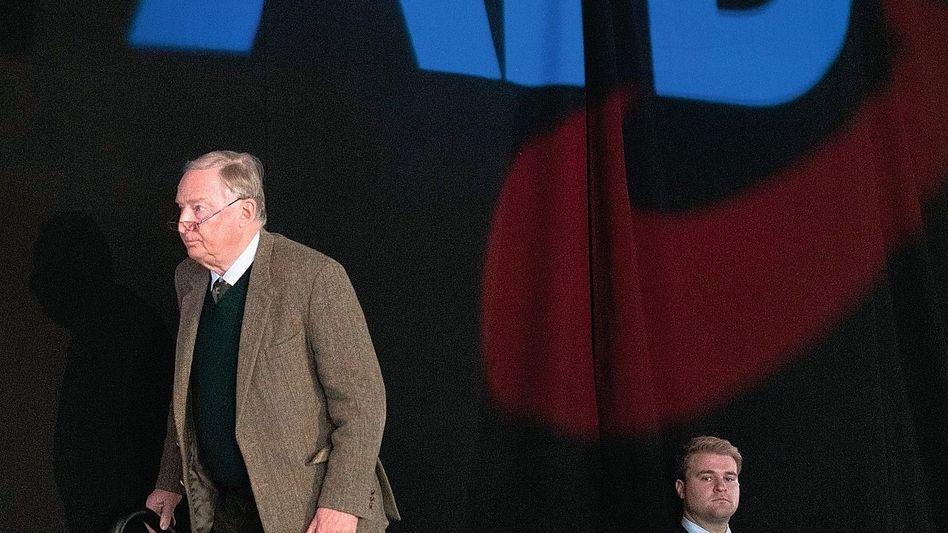 AfD-Bundessprecher Alexander Gauland