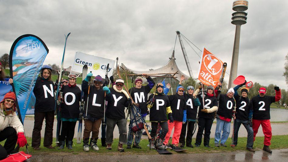 Bürgerentscheid in Bayern: Aufstand gegen die olympische Allmacht