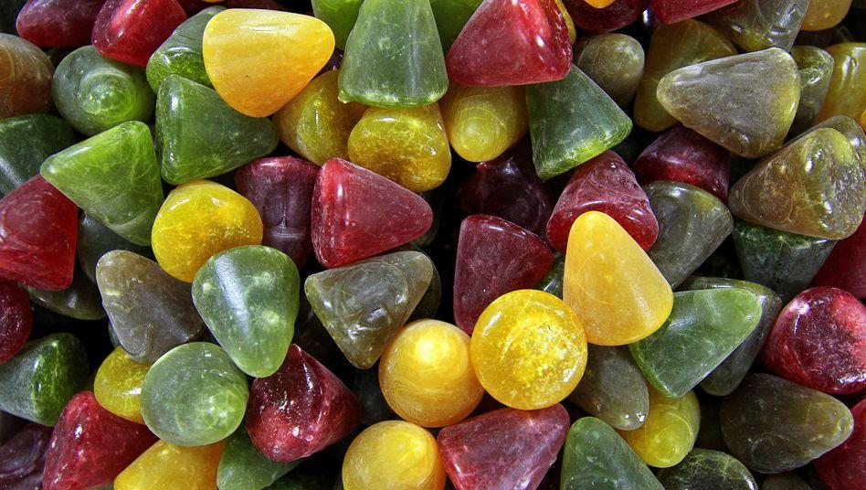 Bunte Bonbons: Farbstoffe sind nicht immer unbedenklich