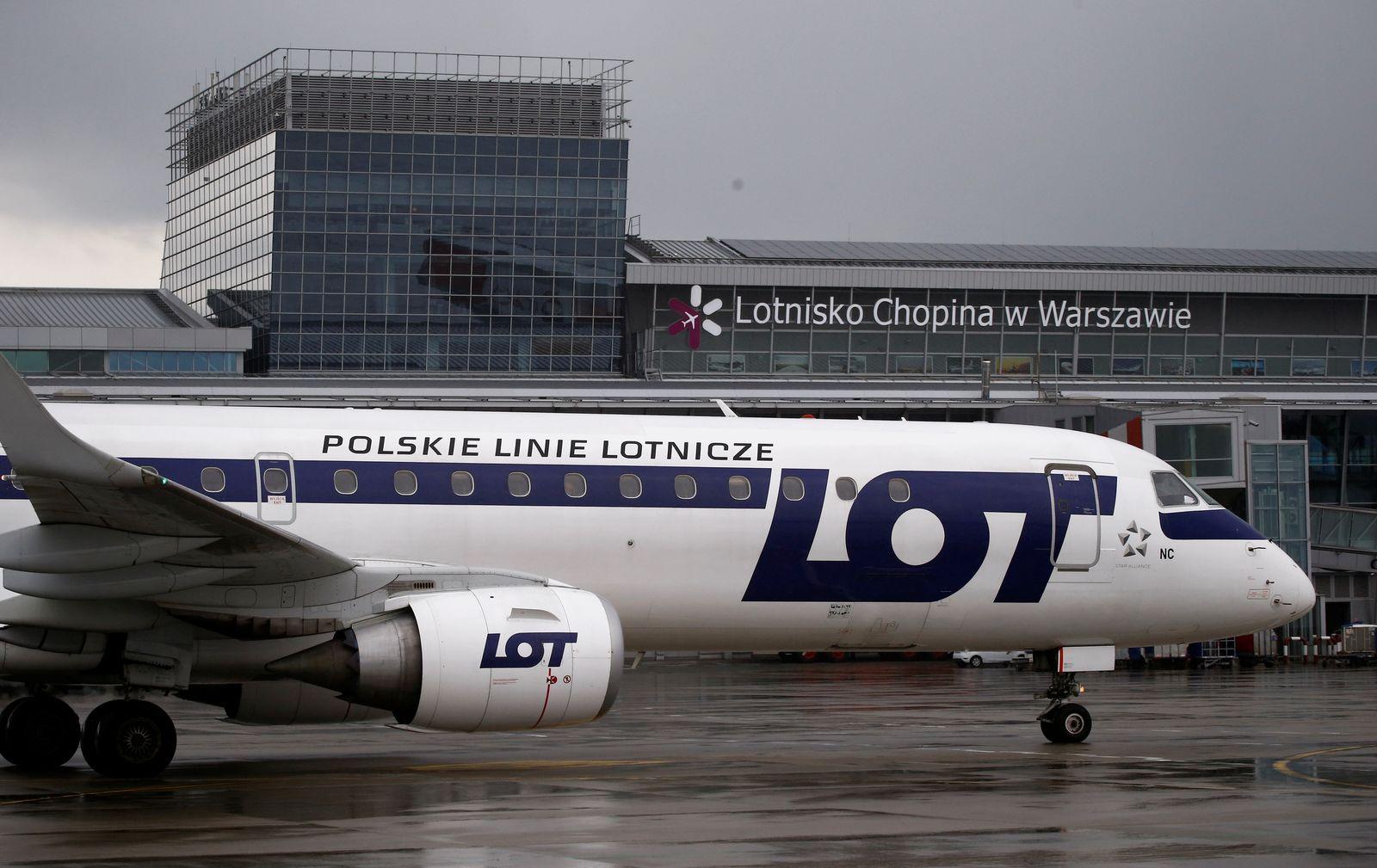 Flughafen Chopin / Warschau