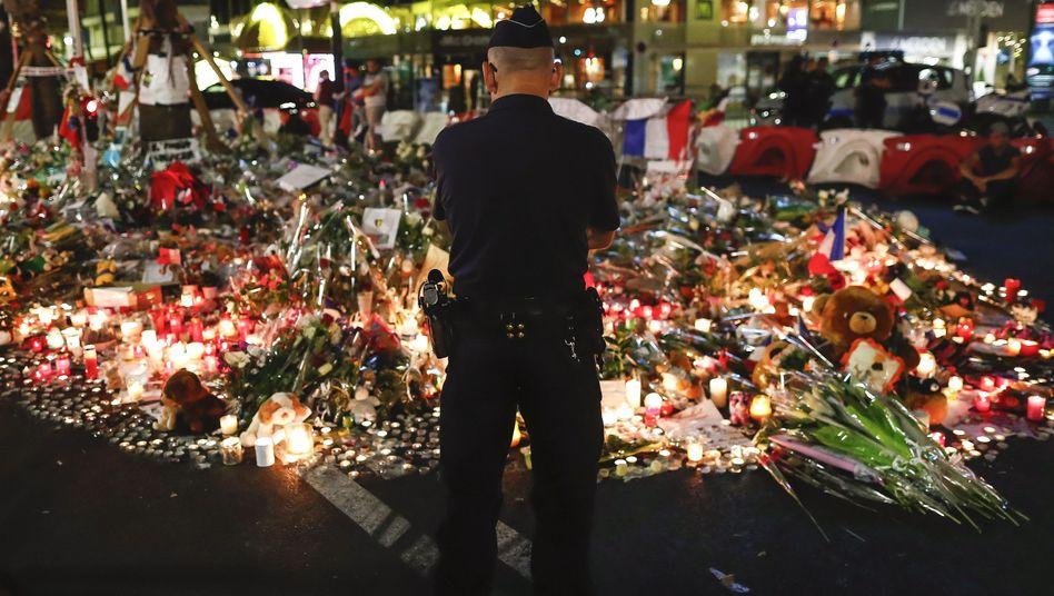 Promenade nach dem Anschlag in Nizza