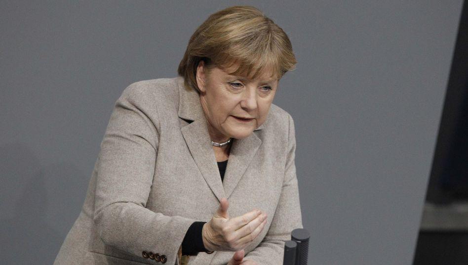"""Kanzlerin Merkel: """"Krise hat Fehler der Vergangenheit offengelegt"""""""