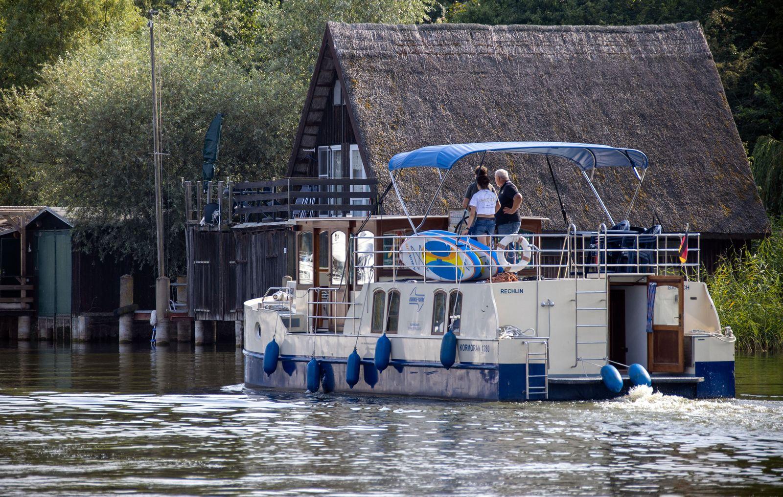 Nachfrageboom bei Hausbooten