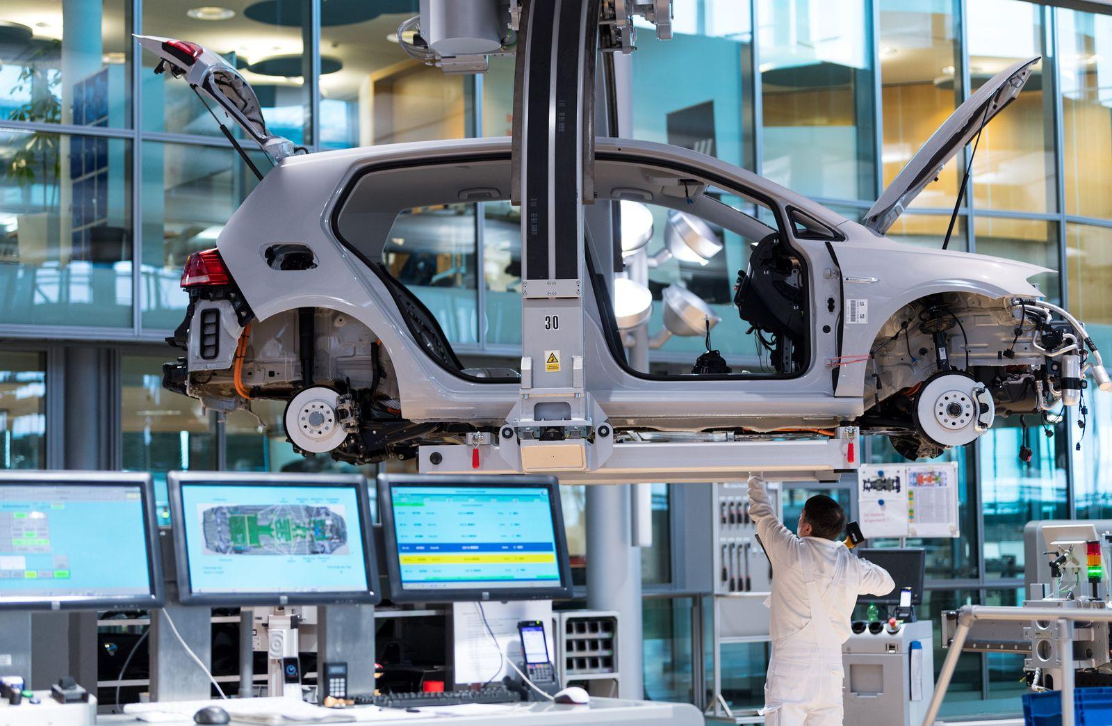 VW E-Auto E-Golf