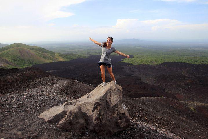 Posieren auf Nicaraguas Vulkanen: Preisgünstig und sicher