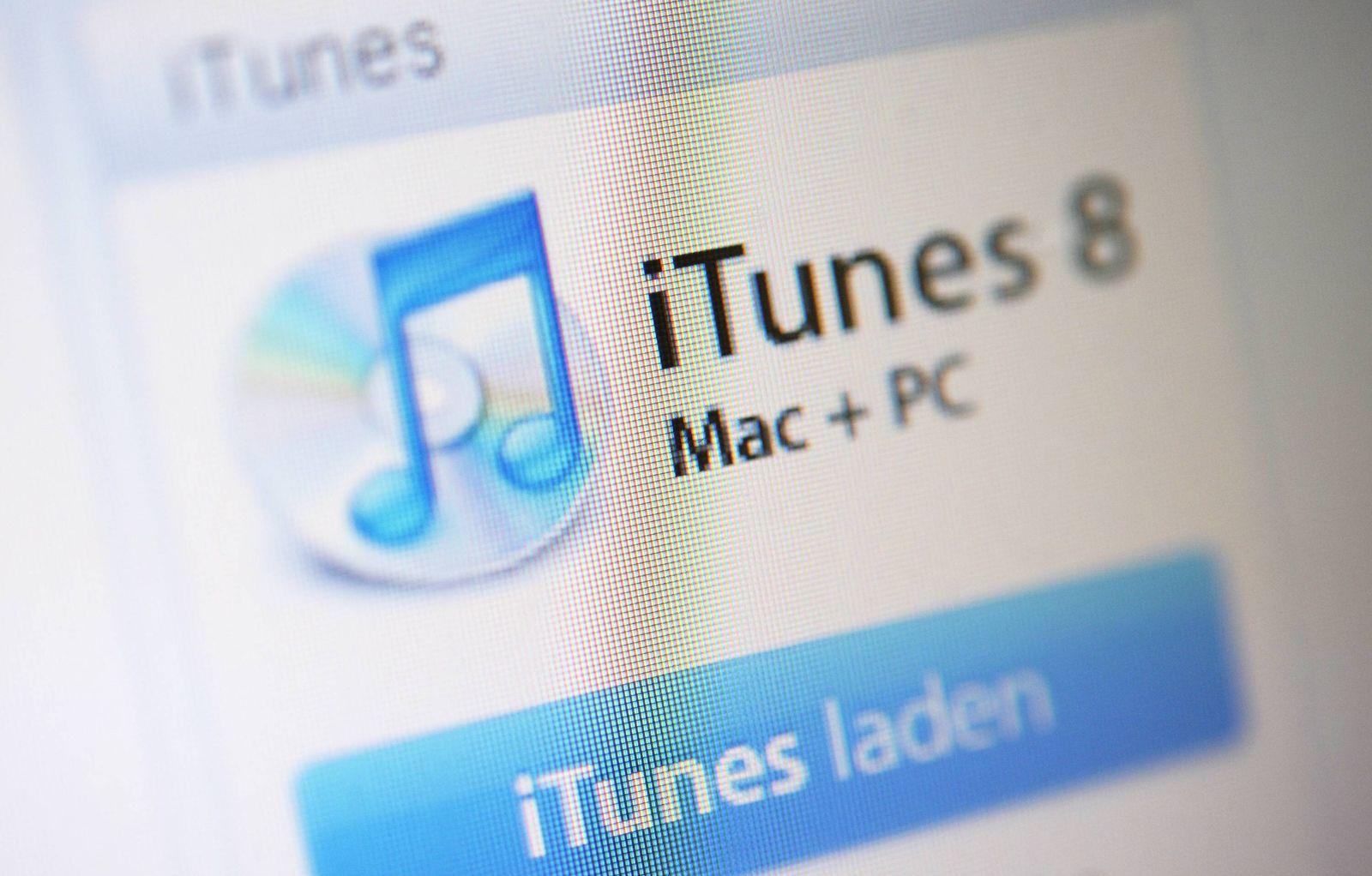 NICHT VERWENDEN Symbolbild iTunes