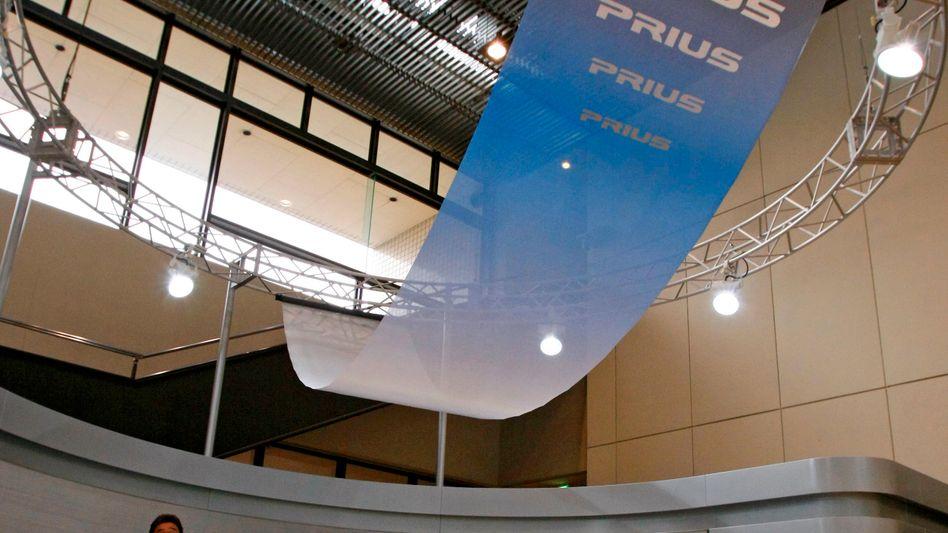 Toyota Prius: Das japanische Hybridmodell in der Firmenzentrale