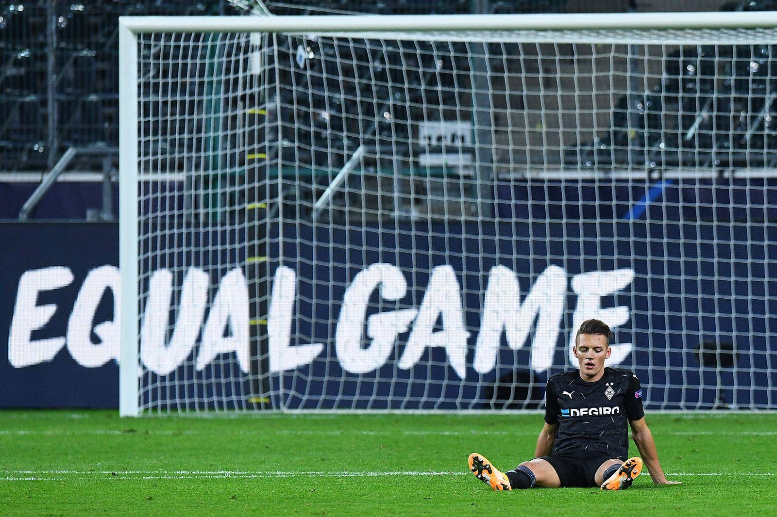 Fußball Champions League Gruppenphase 2. Spieltag Borussia Mönchengladbach - Real Madrid am 27.10.2020 im Borussia-Park