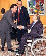 Schröder, Bronfman, Bubis