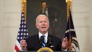 Präsident Biden verspricht Impfstoff für alle erwachsenen Amerikaner bis Ende Mai